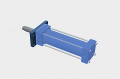 Hydraulikzylinder Modell in Solidworks