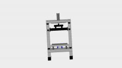 Hydraulic press dwg Model