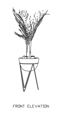 Indoor Plants for Living Room 14 dwg Drawing