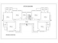 Industrial Office Building Design GF Plan .dwg_1