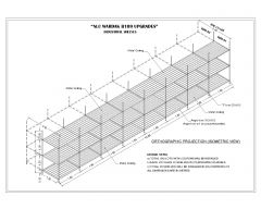 Industrial shelves Plan & Elevation with Isometric View .dwg-3