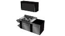 带燃气烤箱的铁柜(5烧)-厨房设计SKP