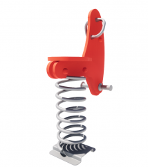 Outdoor toy spring seat revit family