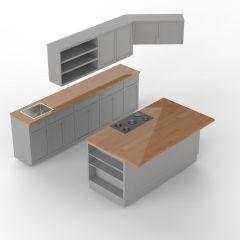 Kitchen sldprt model