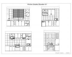 Kitchen Detailed Elevation-001