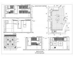 Kitchen KITCHEN WALLS ELEVATION-Model