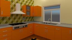 Conception d'armoires de cuisine résidentielles
