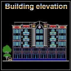 ★ 【Elevación Edificio 1】 ★