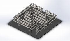 Modelo de Solidworks Laberinto