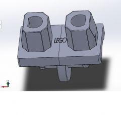 Lego Heup solidworks model