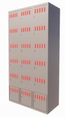 Metal Locker 3x6 revit family