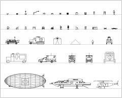 Коллекция медицинских фасадов CAD dwg