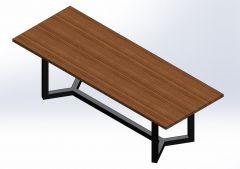 Meeting table 8.SLDPRT file