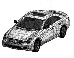 Revit Family 3d Car Mercedes CLS