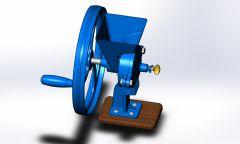 Mühlenbauwerkmodell