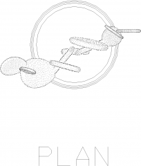 Miniature Plant for Living Room 1 Plan dwg Drawing