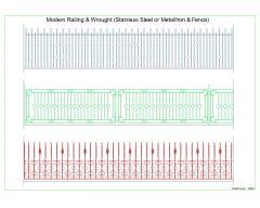 Modern Railing & Wrought -002