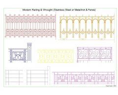 Modern Railing & Wrought -007