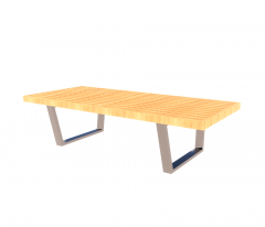 Platit Bench Revit-Modell
