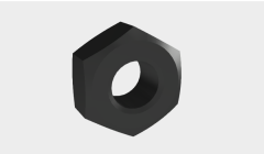 Nut m10x 1. 5 ipt Model