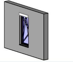 Okno kridlo Revitファミリー