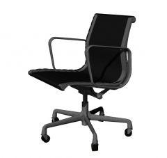 simple designed seminar room chair 3d model .3dm format