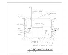 Oil Water Separator .dwg