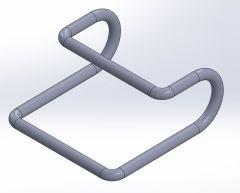 Open hook.SLDPRT file