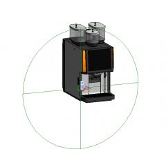 Fully – automatic coffee machine PACute-5000S rfa