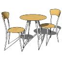 テーブルと椅子PAiuthuong10 skp