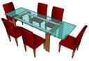 Стол и стулья PAiuthuong31 skp