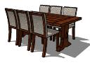 Mesa y sillas PAiuthuong39 skp