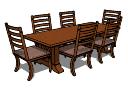 テーブルと椅子PAiuthuong43 skp