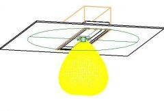 Revit-Produktfamilie für Reinraum-LED-Layouts