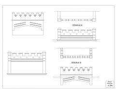 Parapet & Low Height Wall Design .dwg-6