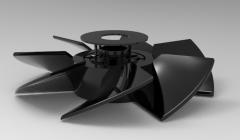 Autodesk Inventor 3D CAD Model of FAN 12 V