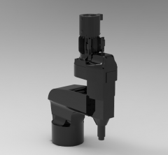 Autodesk Inventor 3D CAD Model of Drill Machine model