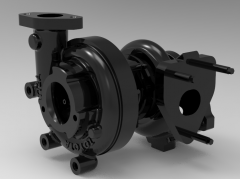 Autodesk Inventor 3D CAD Model of CT12A TURBO