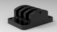 Autodesk Inventor 3D CAD Model of buffer coupling