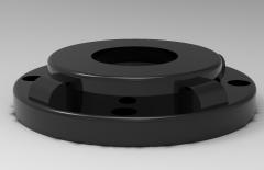 Autodesk Inventor 3D CAD Model of Capture Plate