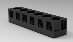 Autodesk Inventor 3D CAD Model of carter cylinders