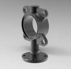 Autodesk Inventor 3D CAD Model of exercise 34