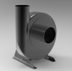 Fusion 360 3D CAD Model of Centrifugal ventilator