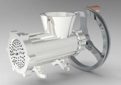 Fusion 360 3D CAD Model of Meat grinder new