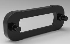 Autodesk Inventor 3D CAD Model of slide fastener