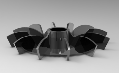 VENTILADOR MOTORCIRCULACIONのAutodeskInventor 3DCADモデル