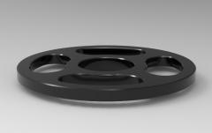 Autodesk Inventor 3D CAD Model of steering type wheel