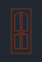 Türhöhe DWG-Format