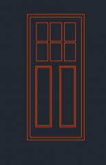 Door Elevation dwg format