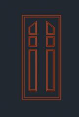 ドア立面図dwg形式